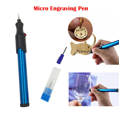 New Micro Engraver Pen Electric Engraving Carve Tool For Jewelry Metal Wood Mini