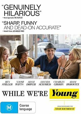 While We're Young (DVD, 2015) Region 4 Used Like NEW Free Postage!   Naomi Watts