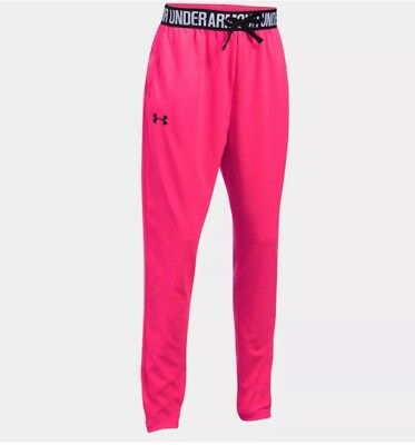 Under Armour Girls' Tech Pink Active Joggers Size Youth S