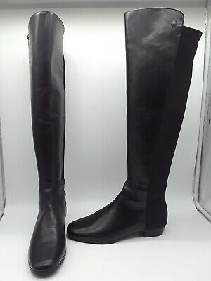 fb73c51591e VINCE CAMUTO WOMENS Karita Over The Knee Boots Size 6M Black Leather ...