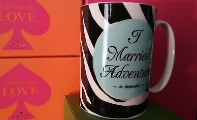 Lenox~ kate spade~ New York~ A Way With Words ~ I Married Adventure..