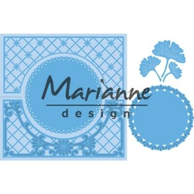 Marianne Design CREATABLES Stencil ANJAYS LACE FOLDING die CIRCLE LR0552 135mm
