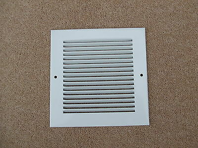 Air ventilation flat wall grille ducting extractor fan pressed steel hole cover