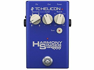 TC-HELICON Harmony Singer guitar vocal effector Free Ship w/Tracking# New Japan