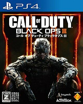 PS4 Call of Duty:Black Ops III Free Shipping with Tracking number New from Japan