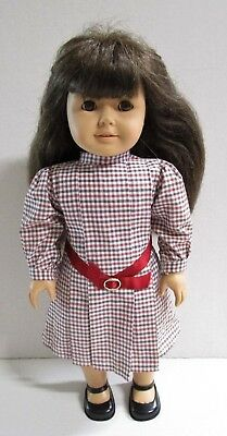 """Pleasant Company American Girl Samantha Doll 18"""" with Meet Dress & Shoes"""