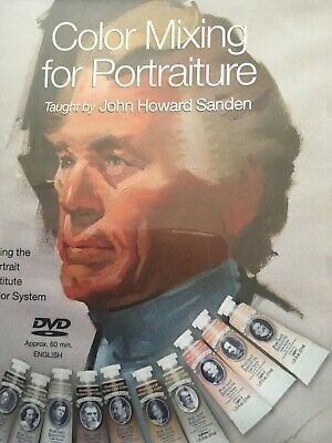 JOHN HOWARD SANDEN, DVD Titled COLOR MIXING FOR PORTRAITURE, The Masters Lessons
