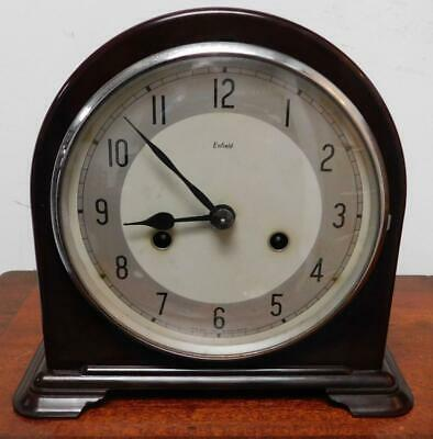 enfield bakelite striking mantel clock