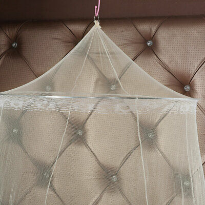 Bed Mosquito Net Canopy Netting Curtain Dome Fly Midges Insect Stopping Outdoor