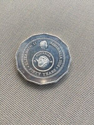 Australian 2016 Fifty Cent Commemorating 50th Anniversary Of Decimal Currency