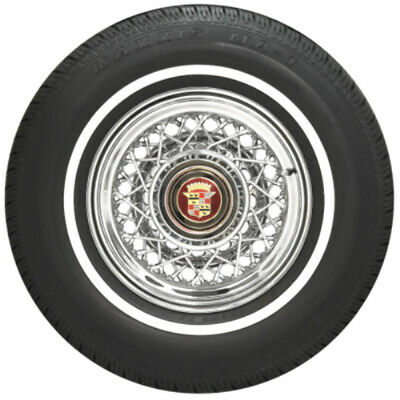 "Coker P185/75R14 Maxxis Tire 89S .8"" Whitewall"