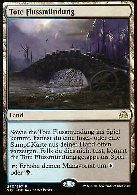 Tote Flussmündu / Choked Estuary | NM | Shadows over Innistrad | GER | Magic MTG