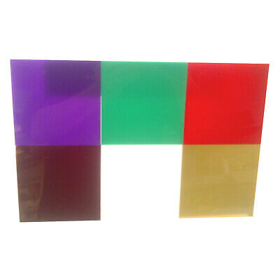 Cast Acrylic Perspex Sheets Pick Your Own Size 3mm Violet Green Red Opal Gold