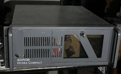 Barco hydra compact monitor wall interface rack with 24 inputs
