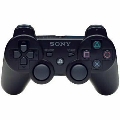Official Genuine Sony Playstation PS3 Wireless Dualshock 3 Controller *BLACK*