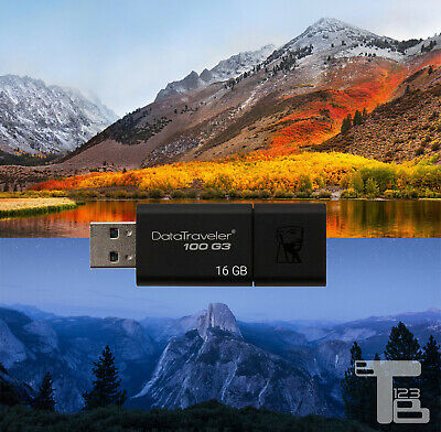 APPLE MACOS HIGH Sierra USB Bootable Recover / Re install w