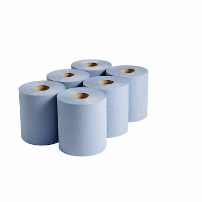 """Blue Rolls 2 ply 10"""" 18 PACK Hygiene Couch Paper   50m x 25cm  FREE DELIVERY"""