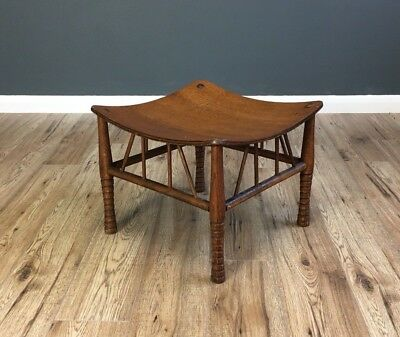Arts And Crafts Thebes Stool Designed After Liberty