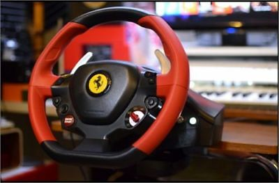 THRUSTMASTER FERRARI 458 Spider Racing Wheel and Pedals for