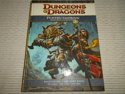 Dungeons & Dragons Player's Handbook Arcane, Divine & Martial Heroes 4th HBack.