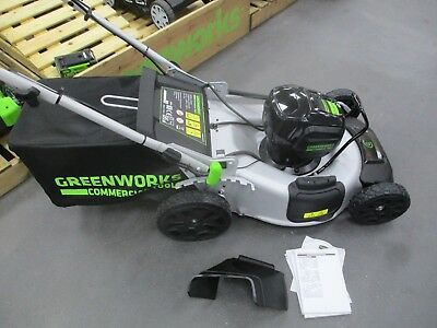 GREENWORKS BATTERY 82V Electric Lawnmower 51Sp New