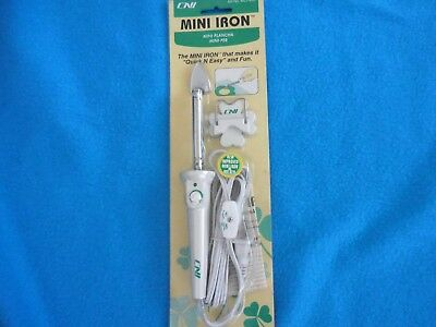 NEW CNI Mini Iron Craft Projects Quilting Sewing Pressing  New in package