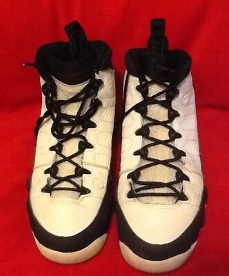 80bb54e7cb3 Air Jordan 9 Retro GS Playoff 302359 102 White Varsity Red Black Sz. 6Y