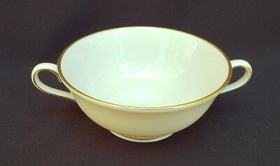 Lenox Ambassador Collection Ambassador Gold Footed Cream Soup Bowl