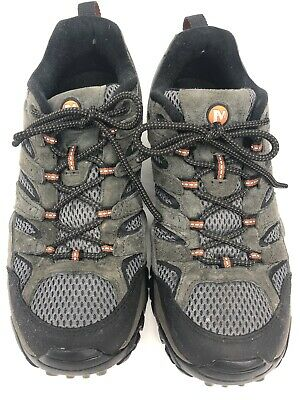 27f35d0d027 MERRELL MOAB 2 WP Men's Size 9 Wide Brown Leather Hiking Boots Shoes ...
