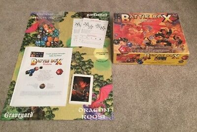 Dragon Dice Battle Box Board Game 1996 - Christmas Family Fun