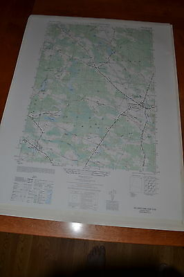 1940's Army topographic map, Williamstown New York Sheet 5870 IV NW