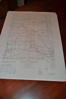 1940's Army topographic map Orchard Park New York -Sheet 5269 I SW