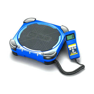 Yellow Jacket 68862 Charging Scale with Carrying Bag, 220 lb. Max Capacity