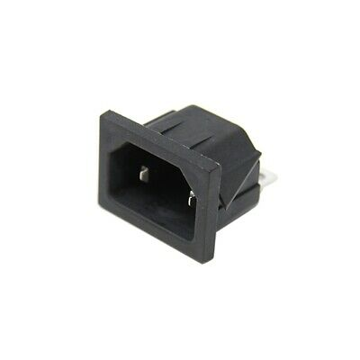 CL191930 Connector AC supply IEC 60320 MS-1 C18 socket male 10A CLIFF