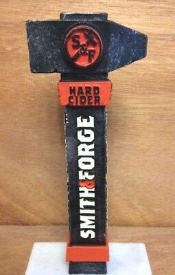 "Smith & Forge Hard Cider Beer Tap Handle Blacksmith NEW & Free Shipn 7.25"" Short"