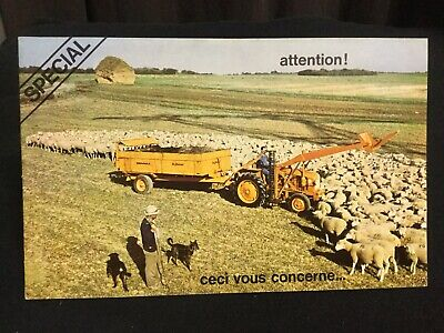 Rare Catalogue 1950's Tracteur RENAULT N72