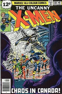 UNCANNY X-MEN #120 Claremont Byrne Marvel Comics 1980 VF