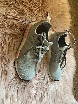 7601d090f Adidas NMD R1 Womens Vapor Grey Pink Onyx Boost limited WOMAN SIZE 7