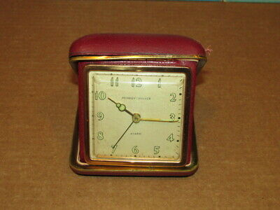Vintage Phinney Walker Travel Alarm Clock for Parts or to Repair VGC