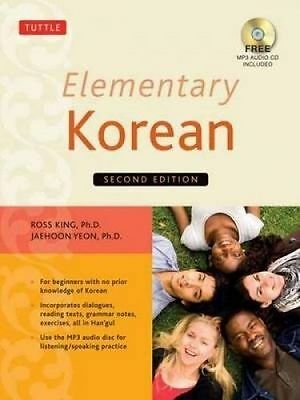 NEW Elementary Korean By Ross King Paperback Free Shipping