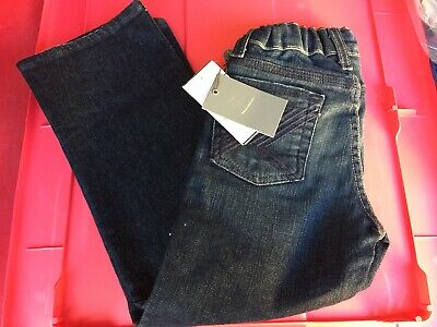 7 For All Mankind Boys Jeans Dark Blue Size 4 Flynt New