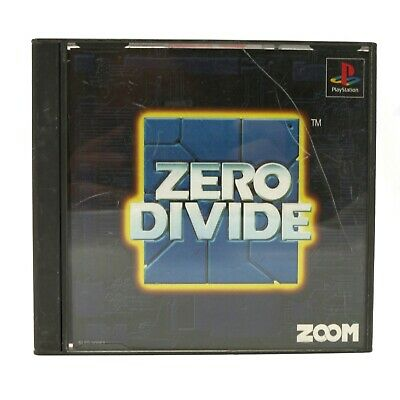 PS1 / Sony Playstation 1 game - Zero Divide JAPAN boxed