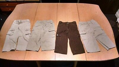 Lot of Boys Pants/Bottoms. Size 24 Months. 4 Pairs Total. Cargo Corderouys
