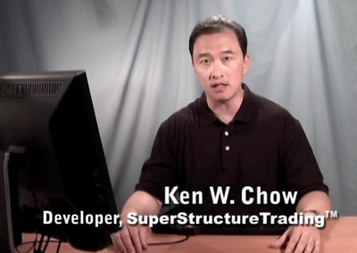 Ken Chow Super Structure Trading Course 5 DVD Super Charge Your Winning Rate