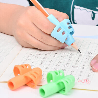 Two-Finger Grip Silicone Baby Learning Writing Tool Writing Pen Writing KID New