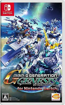 SD Gundam G Generation Genesis for Nintendo Switch (Japan eShop) Digital Code