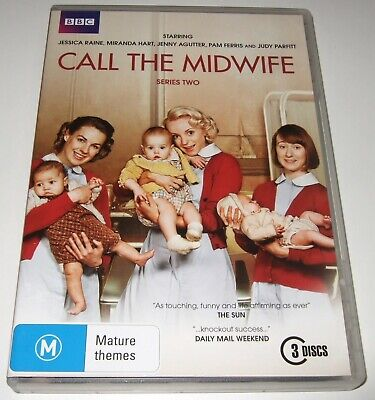 Call The Midwife : Series 2 (DVD, 2013, 3-Disc Set)