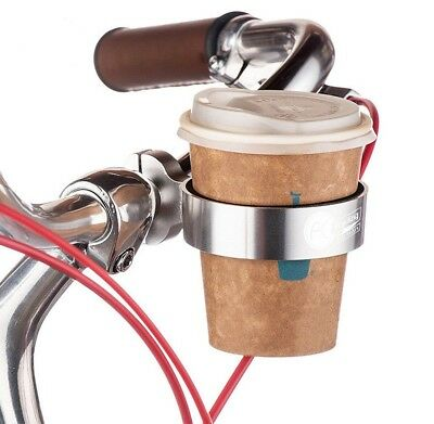 Aluminum Alloy Bicycle Handlebar Lightweight Drinking Water Cup Holder CN W6E0