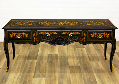 Large CHINOISERIE CONSOLE TABLE MASTERPIECE ca.180cm KONSOLENTISCH, ital.KONSOLE