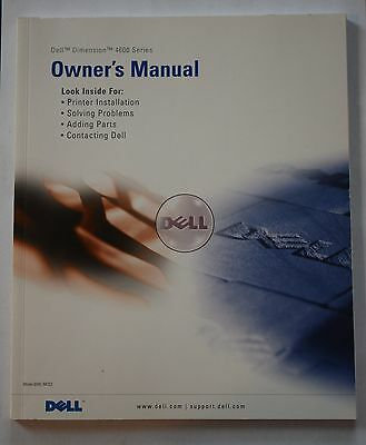 Dell Dimension 4600 Series Owner's Manual